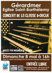 affiche concert orgue 8 mai