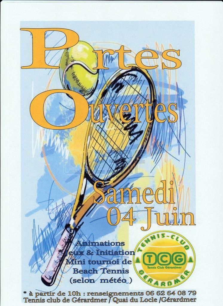 Affiche ''portes ouvertes''le 4 Juin 001