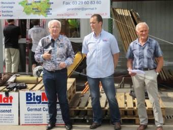 Jean-Marc Valentin, Gauthier Benoît et Jean-Claude Barraud