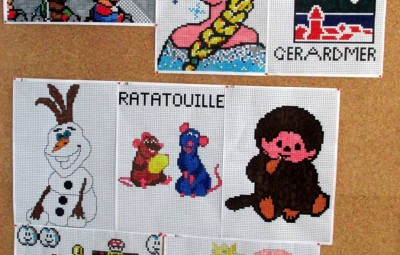 Concours Minecraft - pixel art