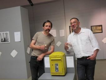 Jean-Marc Viret (à gauche) et Cesare Berardi