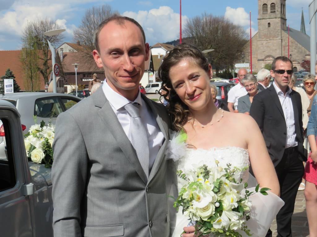 Mariage Céline - david