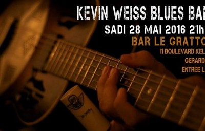 Kevin Weiss blues band Le Grattoir