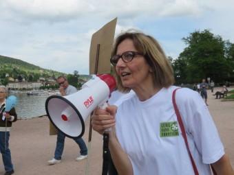 Marie-Claude Perrin, présidente de Lyme sans Frontières