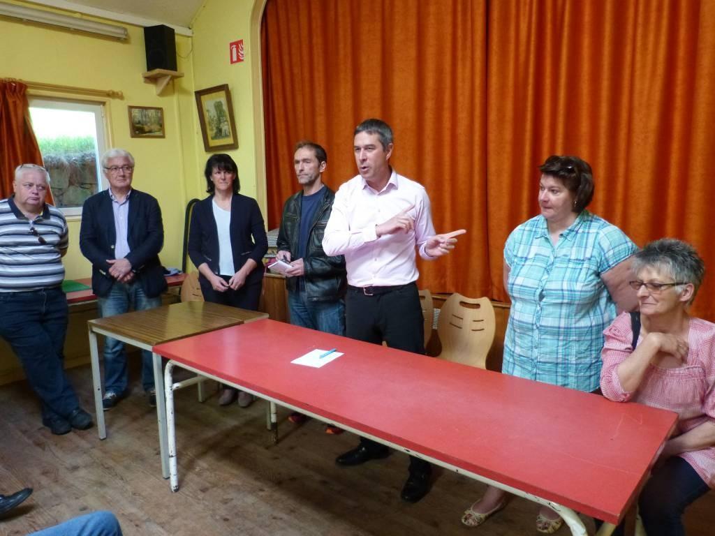 Les élus du conseil municipal à la rencontre des habitant du Bas-Beillard