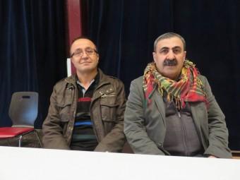Hassan Malo à gauche