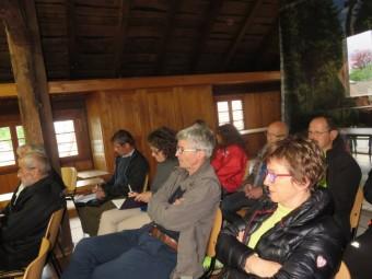 Partenaires et responsables étaient invités à prendre connaissances des parcours et de quelques petites nouveautés