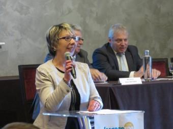 Catherine Marcel, présidente du syndcat des buralistes vosgiens