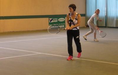 Hélène Castet et Estelle Germain ont perdu le double de cette rencontre remportée 3-1 photo d'(archives)