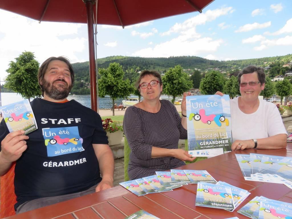 Marc Genatio, Anne Chwaliszewski & Marie-Rose Briot ont présenté le programme de cet été 2016