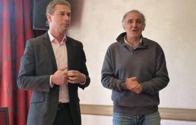 Stessy Speissmann et André Bouvard directeur de production