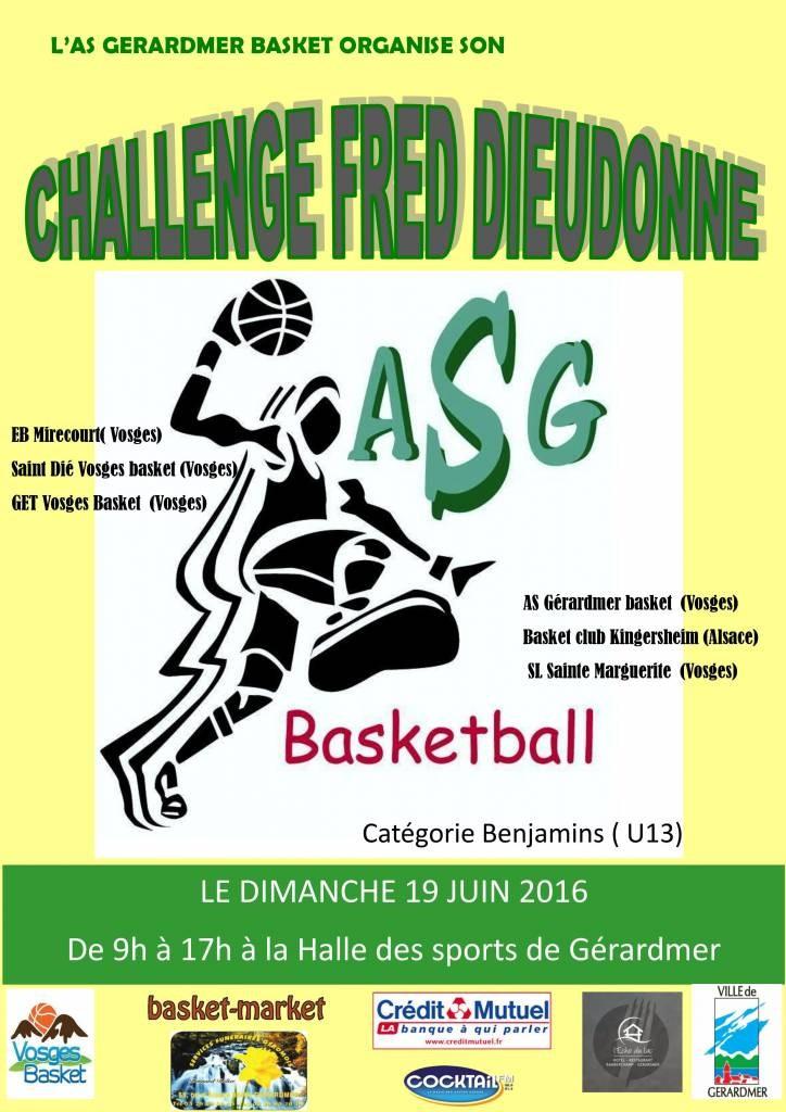 Tournoi U13 Fred Dieudonné