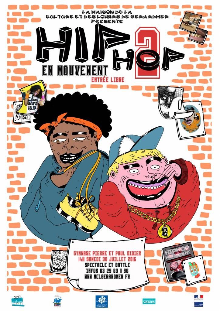 affiche hiphop Estelle - 2016