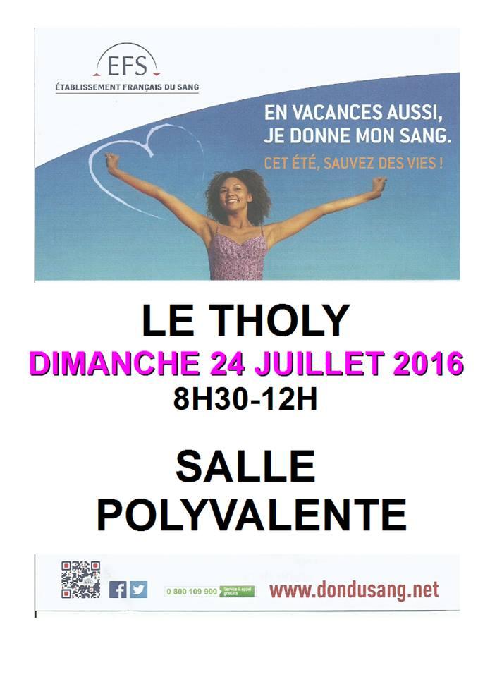 Affiche collecte 24 juillet 2016 m
