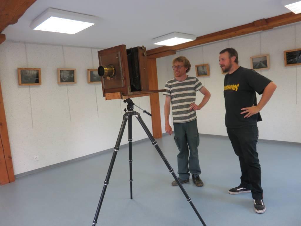 Julien Félix et Alain Grandemange (à gauche sur la photo)