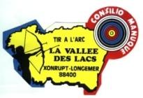 tir à l'arc logo xonrupt vallée des lacs