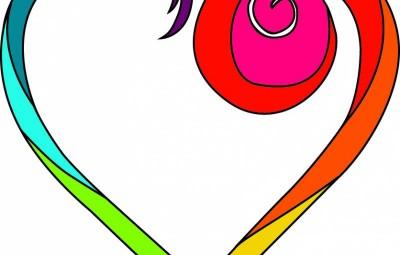 Acceleration Logo écriture blanche