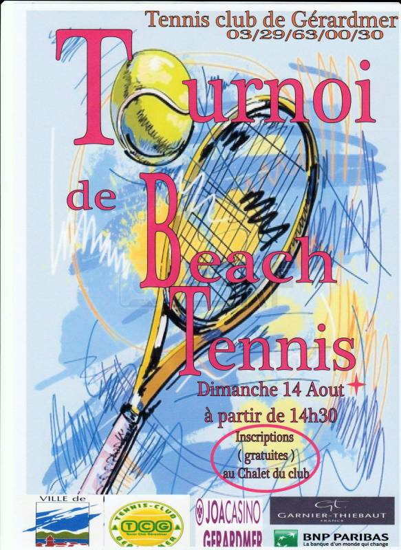 Affiche tournoi de beach tennis 2016 001