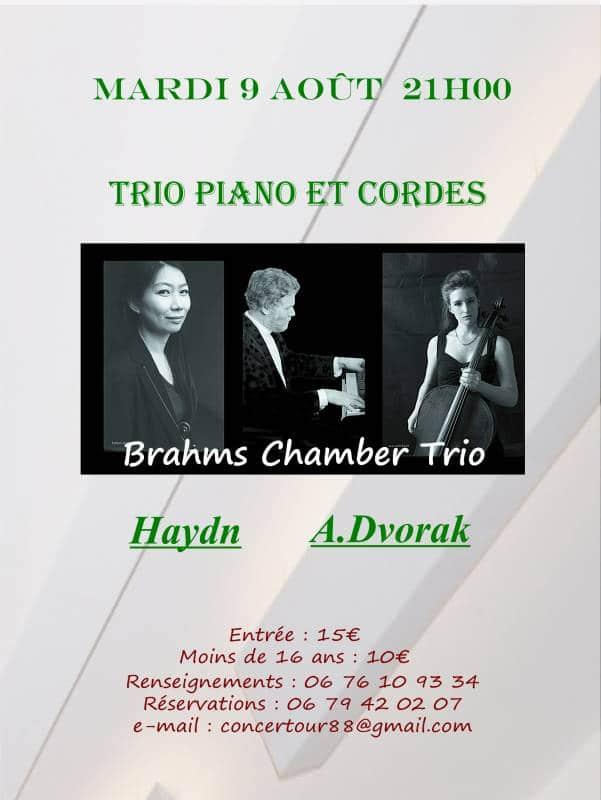 trio piano & cordes kichompré