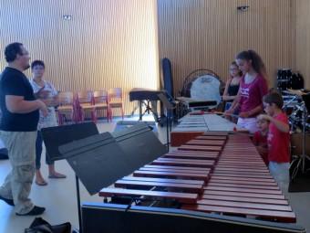 école musique percus