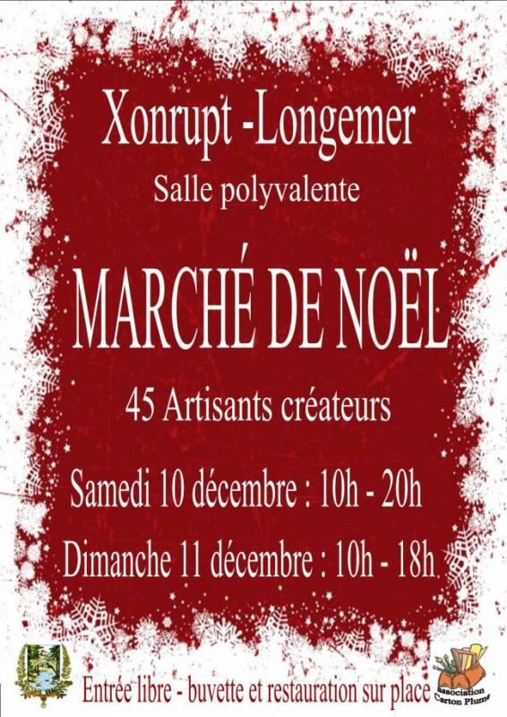 Marché Noël Xonrupt