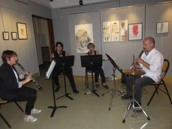 la classe de clarinette de Fred perrin en action