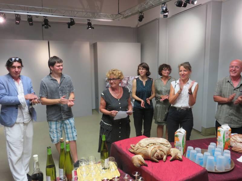 Accompagnée du nouveau directeur Vincent Oudot (à gauche) et du responsable de la commission cinéma, la présidente de la MCL Martine Crouvezier a accueilli les cinéphiles du soir