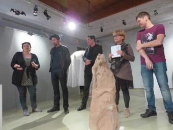 De gauche à droite : Delphine Aubry, Stéphane Lalevée, Vincent Oudot, Martine Crouvezier & Loïc Moresi