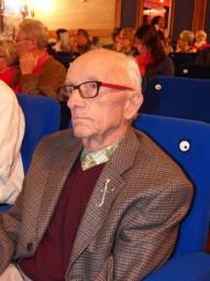 Michel Richard arbore fièrement l'insigne des goumiers marocains