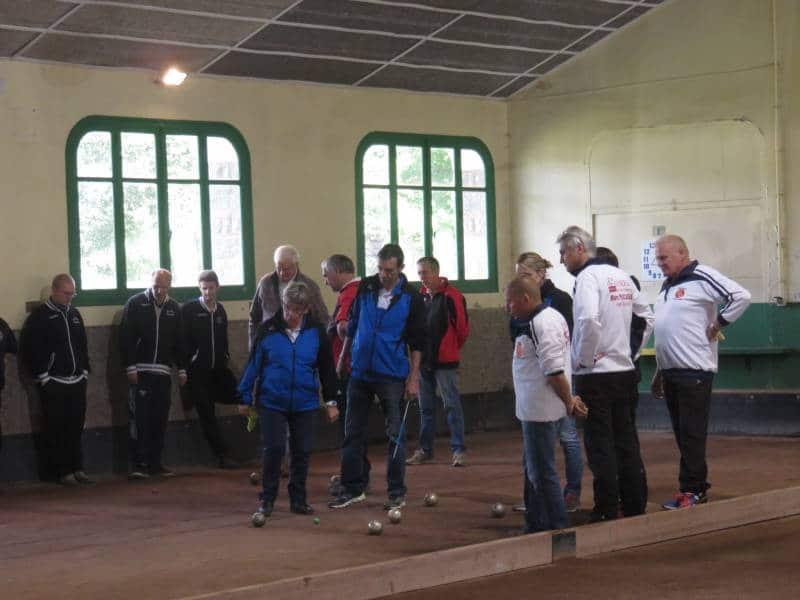 Les Gérômois (en blanc) se sont imposés en finale contre Mulhouse