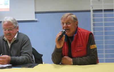 Jean-Claude Ruer a pris la parole lors de l'assemblée générale de Gérardmer Animation