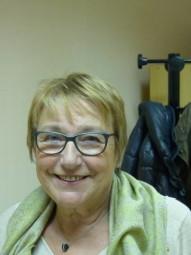 Denise Foinant la présidente des Peintres des hauts
