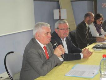 M le Préfet des Vosges en compagnie d'Hervé Badonnel, président de la Communauté de Communes Gérardmer Monts & vallées