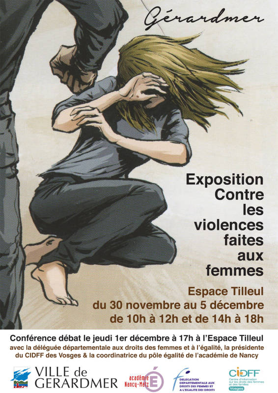 journ e internationale de lutte contre toutes les violences faites aux femmes gerardmer info. Black Bedroom Furniture Sets. Home Design Ideas