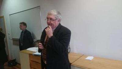 Le proviseur du lycée Chardin M. Lefebvre
