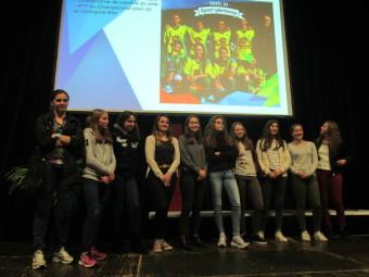 Les U18 féminin de l'ASG footes