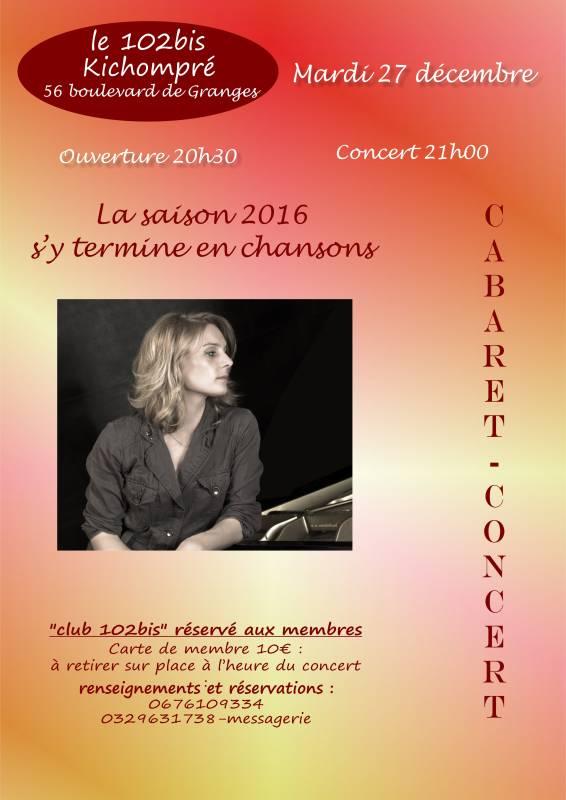 102 Bis concert 27 décembre