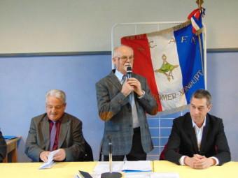 Gérard Roussel, président de la section locale UNC -AFN