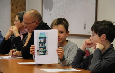 Les jeunes élus ont présenté leur projet