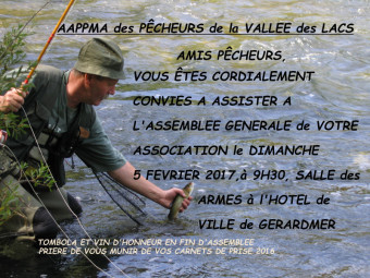 PECHEUR MOUCHE SPOT Gerardmer Info