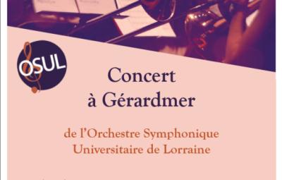 Affiche concert OSUL