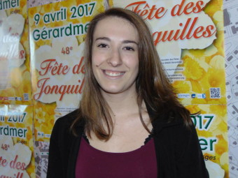Anaïs Didierlaurent – 18 ans. Habite à Gérardmer, actuellement en 1ère année de licence STAPS à Nancy (faculté de sport).