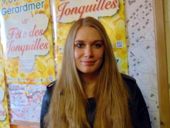 Alicia Bastien – 18 ans. Habite à Gérardmer, actuellement en BAC
