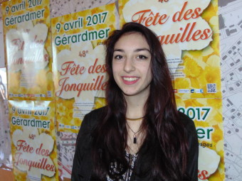 Charline Fustinoni – 17 ans. Habite à Gérardmer, actuellement en première année de STHR (Sciences et technologies de l'hôtellerie et restauration ) au lycée Chardin et travaille au Garage à Pizza.