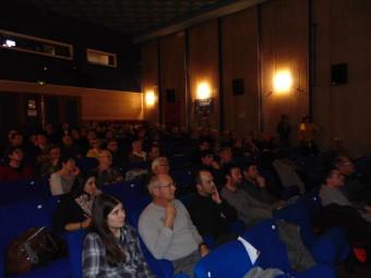 un public venu nombreux à cette conférence-débat à la MCL de Gérardmer