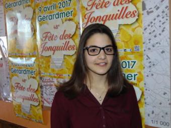 Kallisté Rocca – 18 ans. Habite à Gérardmer. Travaille actuellement «Chez Mémé», bar-restaurant à Gérardmer.