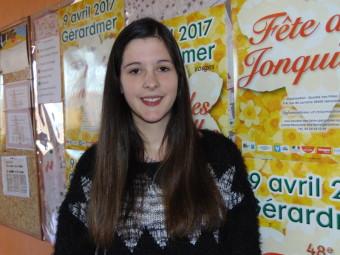 Lucile Étienne – 19 ans. Habite à Gérardmer, actuellement en 2éme année de BTS optique à Ottange près du Luxembourg.