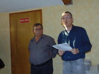 Michel Danner et Pierre Géhin (à droite dur la photo)