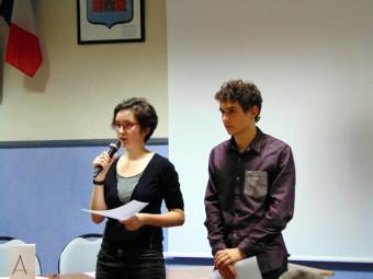 Belle prestation des deux élèves de Claude Gelée Paul & Salomé
