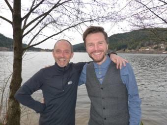 Alain Berguer et Jean-Philippe Foucat les organisateur du salon